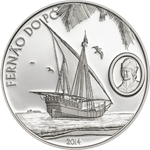 Fernão do Pó - silver coin
