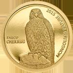 Mongolian Nature: Saker Falcon - Falco cherrug
