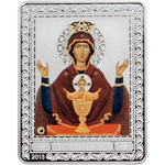 Russion Icons - Neupivaemaya Chalice - Our Lady of the inexhaustible cup