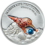 Miracle of the Sea - Coin with pearl