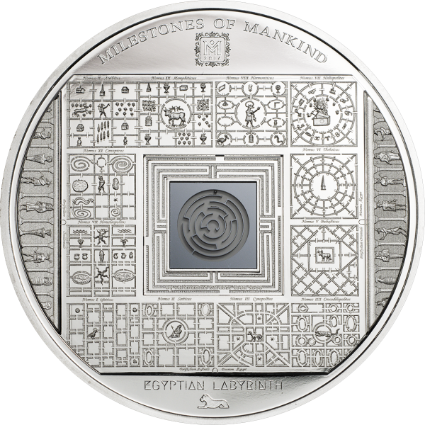Milestones of Mankind – Egyptian Labyrinth, CIT Coin Invest Trust AG / B.H. Mayer, 27607