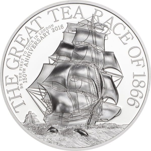 The Great Tea Race – 1 oz, Coin Invest Trust CIT / B.H. Mayer, 27735