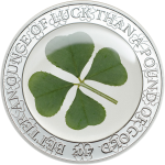 Ounce of Luck 2017 - Silver coin