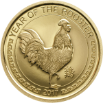 Year of the Rooster - Gold coin