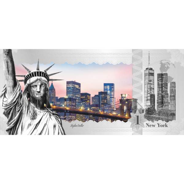 New York – Skyline Dollar, Coin Invest Trust CIT / B.H. Mayer, 28051