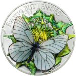 Butterflies in 3D – 2017: Black-veined White