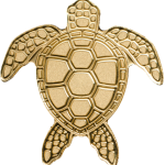 Golden Sea Turtle