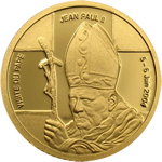 Visit by Pope John Paul II