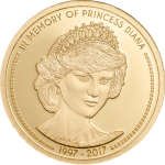 In Memory of Princess Diana, Coin Invest Trust CIT / B.H. Mayer, 28085