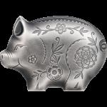 Jolly Silver Pig