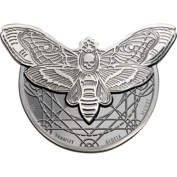 Death's Head Hawkmoth, CIT Coin Invest Trust AG / B.H. Mayer, 28509