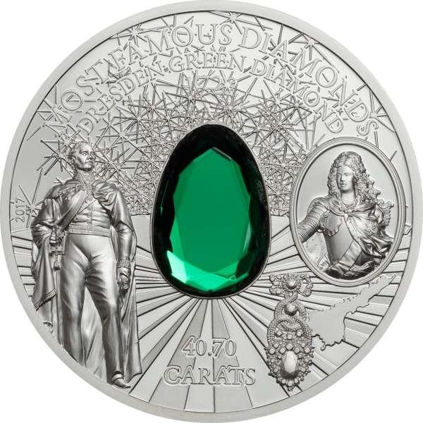 Dresden Green Diamond, CIT Coin Invest Trust AG / B.H. Mayer, CK1709