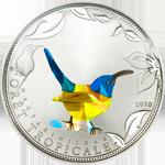 Blue Sunbird - Prism technology