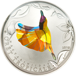 Yellow Sunbird - Prism technology
