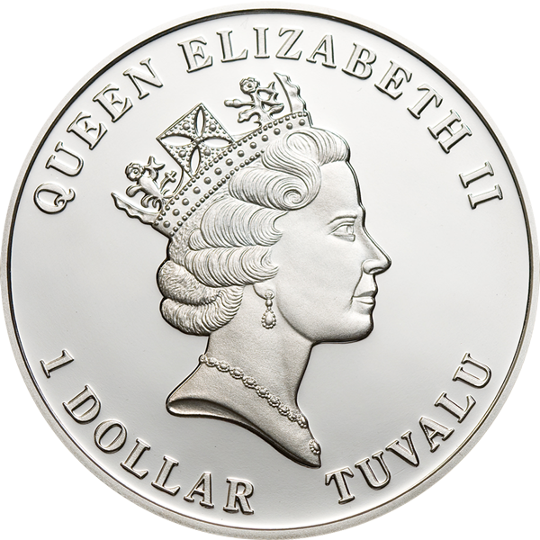Tuvalu Marine Life - Seahorse, CIT Coin Invest Trust AG / B.H. Mayer, 24254