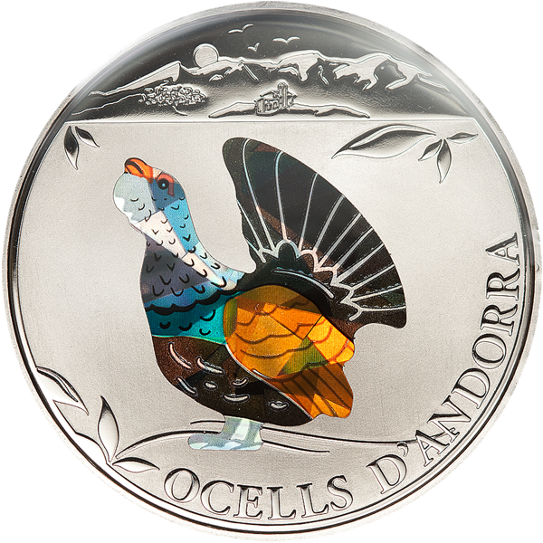 Birds of Andorra - Capercaillie, CIT Coin Invest Trust AG / B.H. Mayer, 25839
