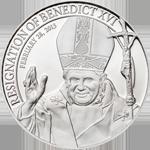 Resignation of Benedict XVI - Silver