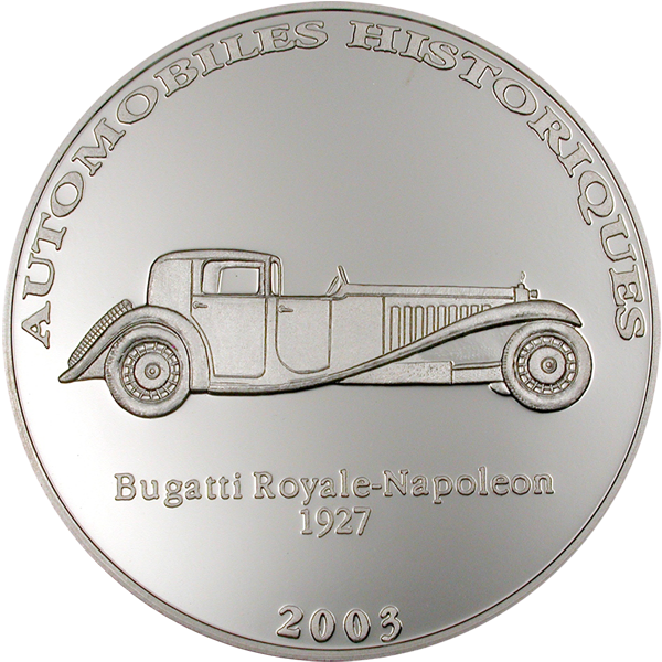 The Most Expensive Car in the World: Bugatti Royale-Napoleon 1927, CIT Coin Invest Trust AG / B.H. Mayer, 20331